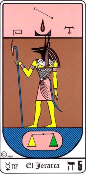 el jerarca tarot egipcio