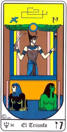 significado de el triunfo en el tarot egipcio