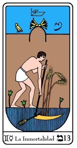 significado inmortalidad tarot egipcio